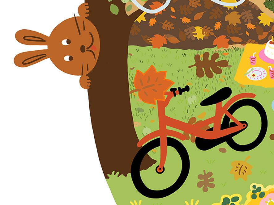 Utsnitt ur affischen för Vem tar hand om hösten
