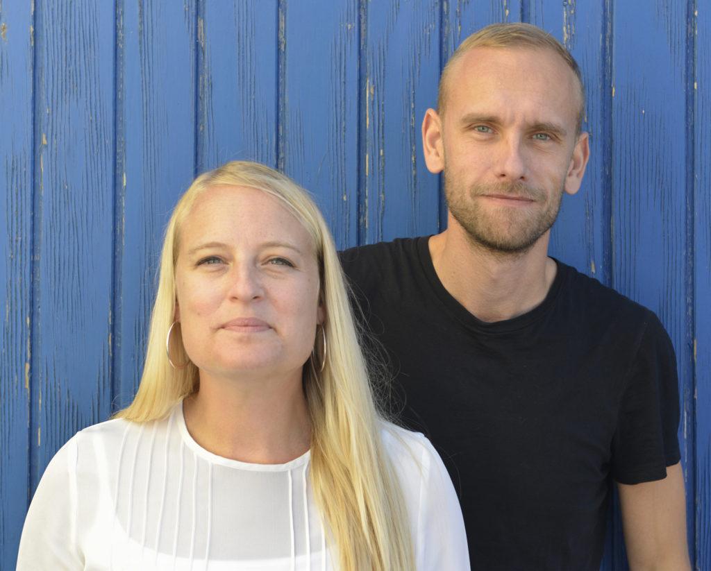 Mia Carlsson och Daniel Rylander